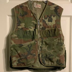 Canvasback Vintage Camo Hunting Vest ZIP
